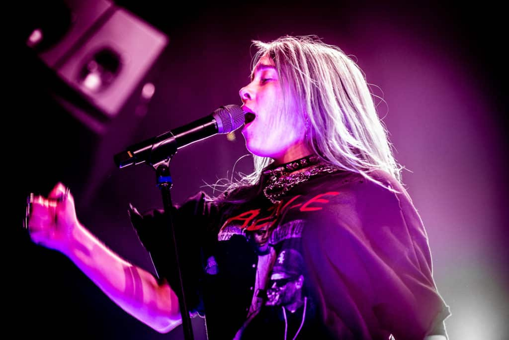 Billie Eilish in TivoliVredenburg
